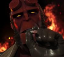 Hellboy in Injustice 2
