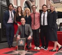 Jim Parsons riceva la sua stella nella Walk of Fame