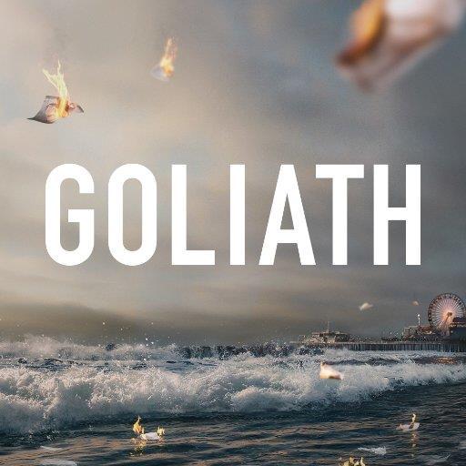 Goliath: il poster della serie