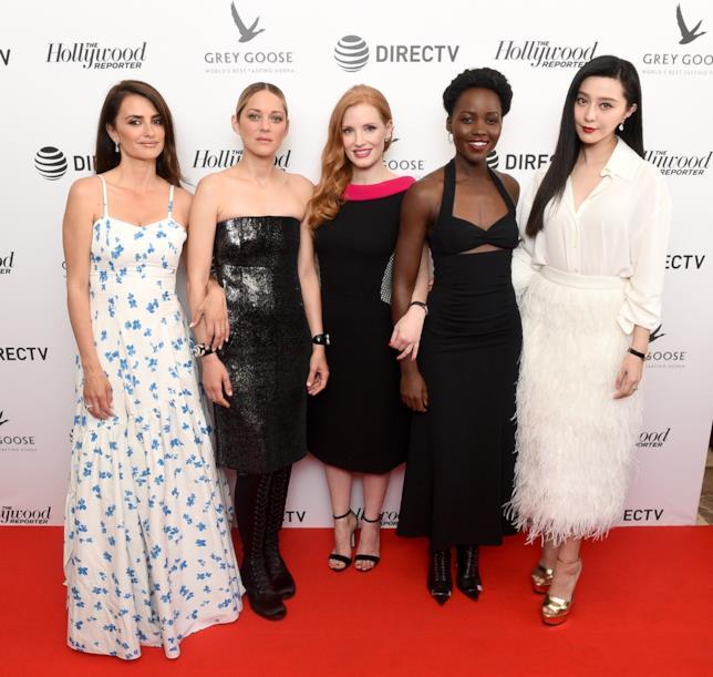 Penelope Cruz, Marion Cotillard, Jessica Chastain, Lupita Nyong'o e Fai Bingbing a Cannes 2018