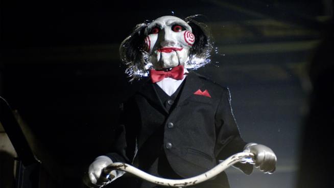 Scena del film Saw
