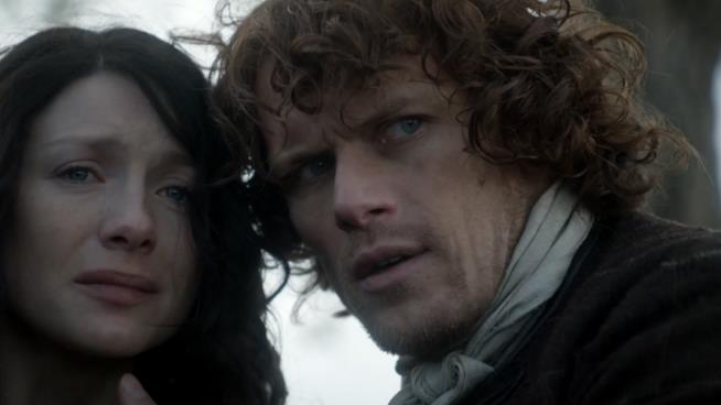 Jamie e Claire prima dell'addio e il ritorno al futuro di CLaire