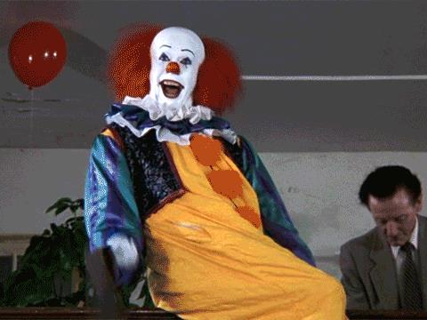 Pennywise nel film del 1990