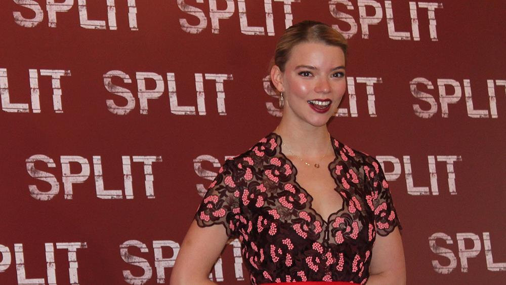 .Anya Taylor-Joy presenta alla stampa milanese SPLIT
