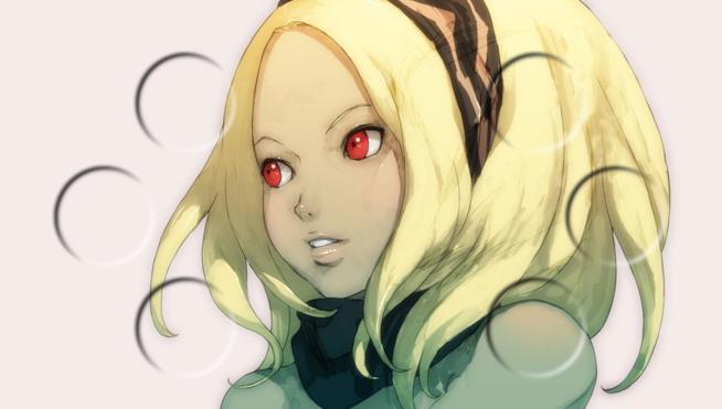Uno splendido ritratto di Kat, protagonista della serie Gravity Rush