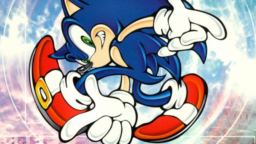 La cover di Sonic Adventure per Dreamcast