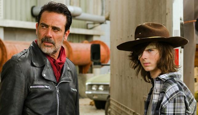 The Walking Dead episodio 7x07: Negan con Carl
