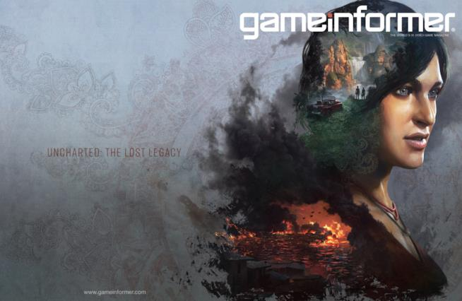 Game Informer dedica la cover a Uncharted: The Lost Legacy