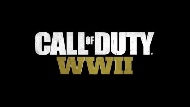 Il logo ufficiale di Call of Duty: WWII