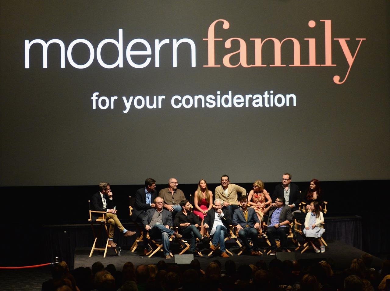 Il cast della serie Modern Family