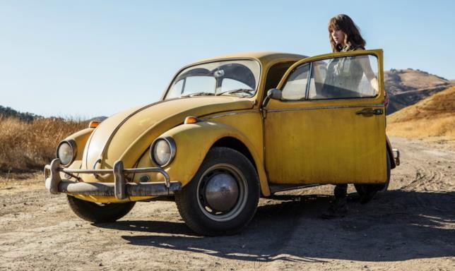 Bumblebee e Hailee Steinfeld insieme nel deserto
