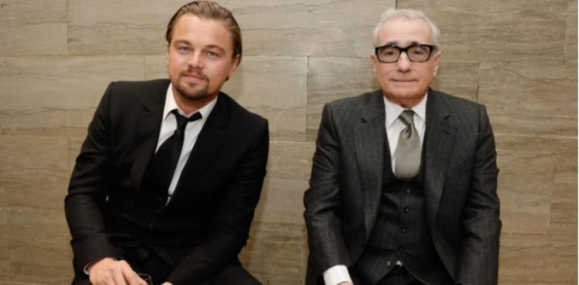 Leonardo DiCaprio e Martin Scorsese sorridenti in una foto