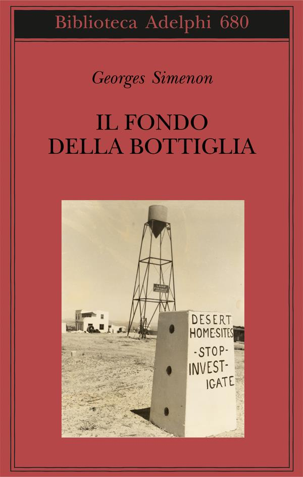La copertina italia di Il fondo della bottiglia