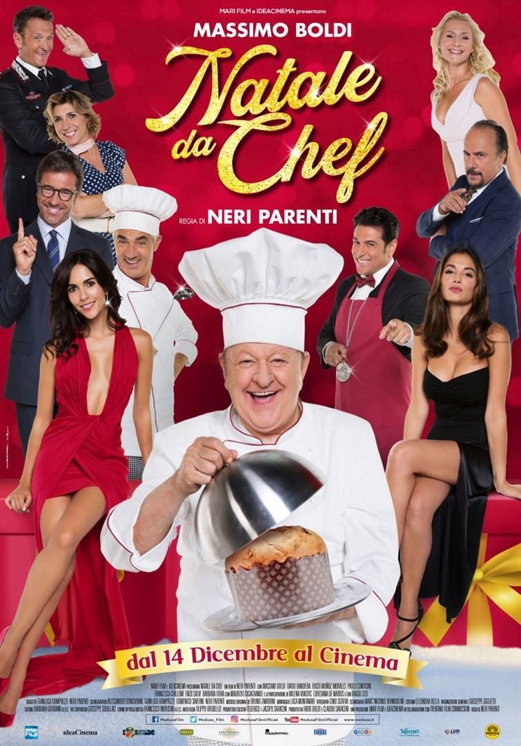 La locandina di Natale da chef