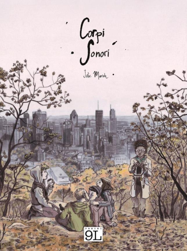 La cover del nuovo fumetto di Julie Maroh