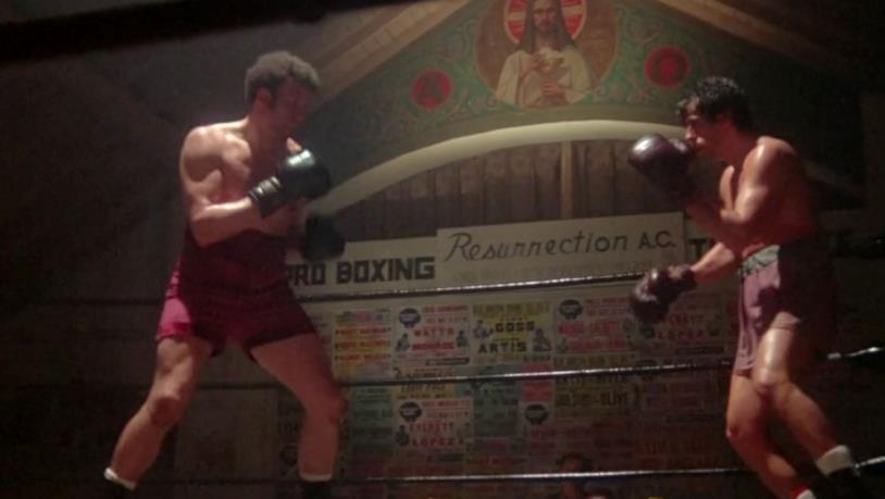 Rocky vs Spider Rico sul ring del primo film