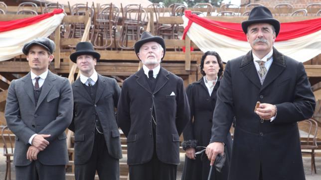 Alcuni dei protagonisti di Titanic - Nascita di una Leggenda