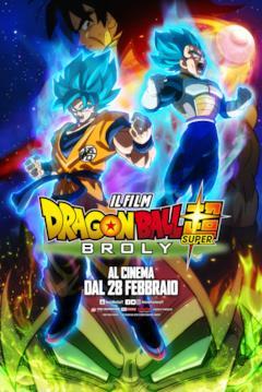 Il poster italiano di Dragon Ball Super: Broly