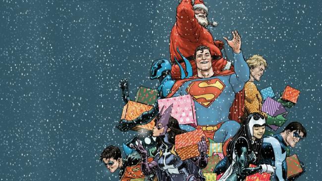 Natale a tema DC Comics