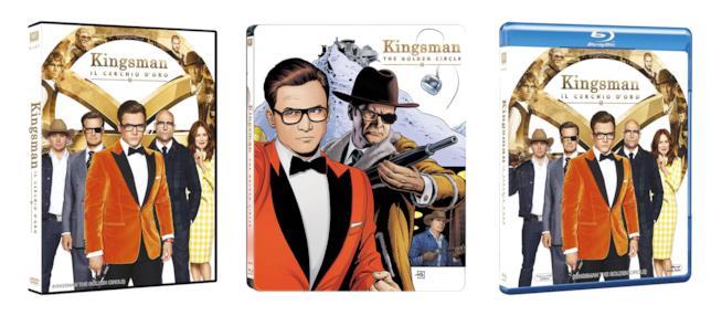 Le versioni Home Video per l'Italia di Kingsman: Il Cerchio d'Oro