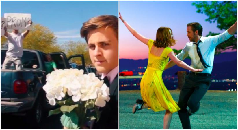 Il sosia di Ryan Gosling e una scena di La La Land