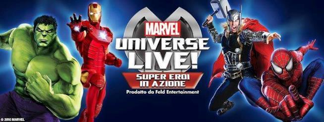 MARVEL UNIVERSE Live! 2016