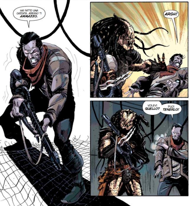 Galgo e il Predator in Fire and Stone 4