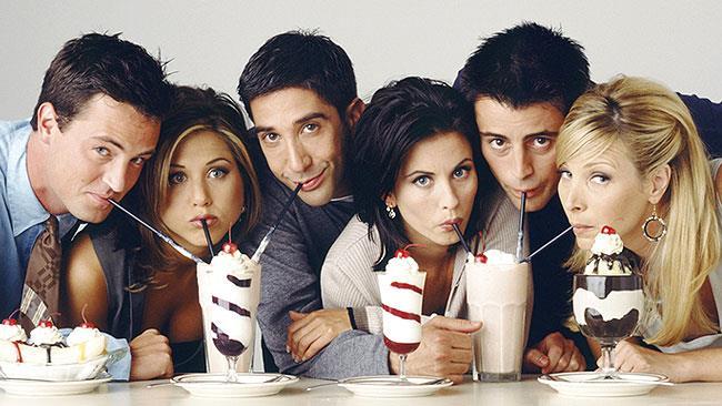 Il cast originale di Friends