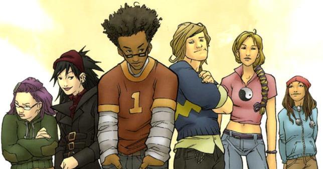 I sei protagonisti dei fumetti di Runaways