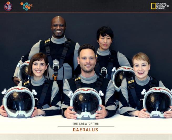 L'equipaggio protagonista di MARS, il nuovo evento globale di National Geographic Channel