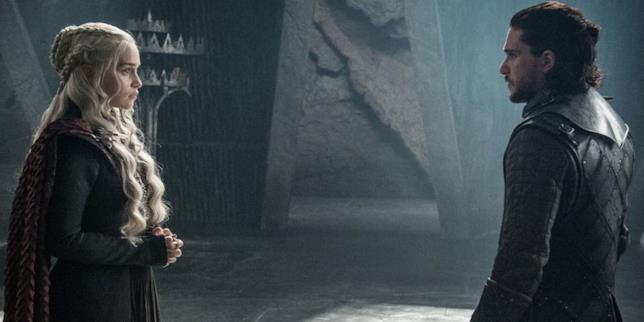 Jon Snow e Daenerys e il loro primo incontro