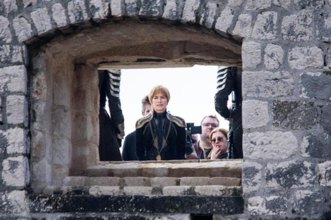 Il nuovo look di Cersei in Game of Thrones