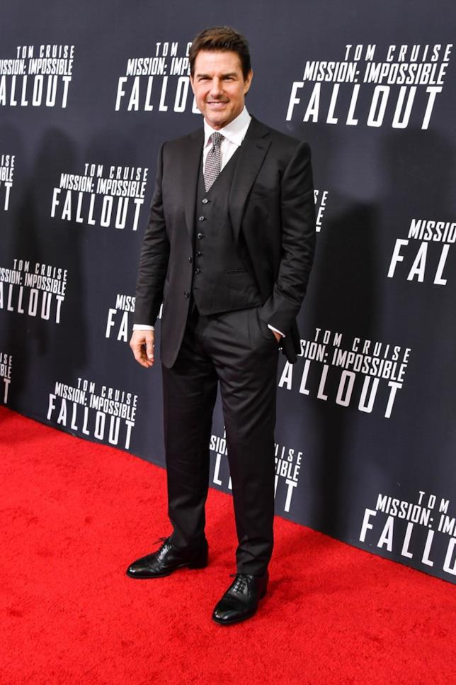 Tom Cruise alla presentazione di Mission: Impossible - Fallout
