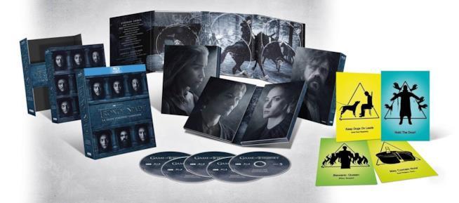 Contenuto del cofanetto di Game of Thrones 6 edizione esclusiva Amazon