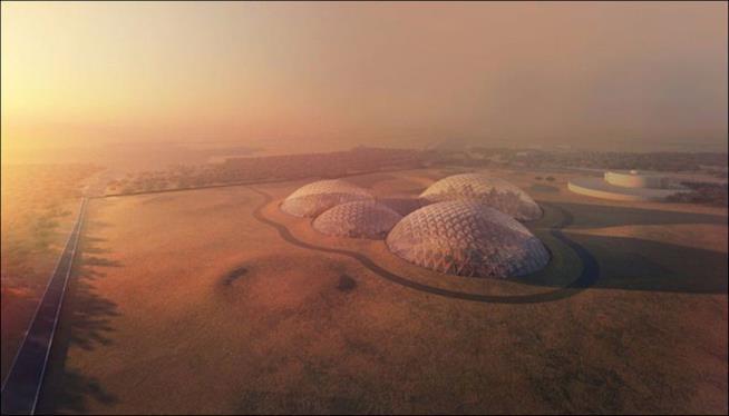 IL nuovo progetto degli Emirati Arabi