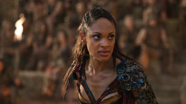 Cynthia Addai-Robinson in Spartacus
