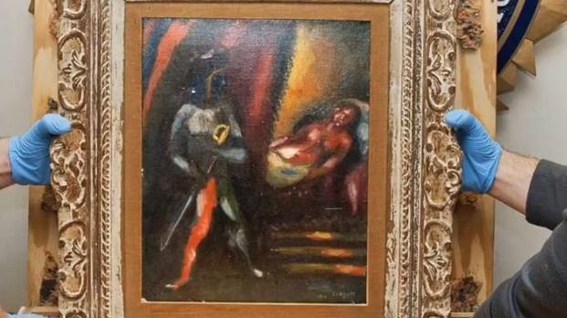 Rispunta lo Chagall rubato
