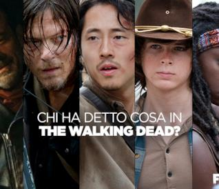 Chi ha detto cosa in The Walking Dead?