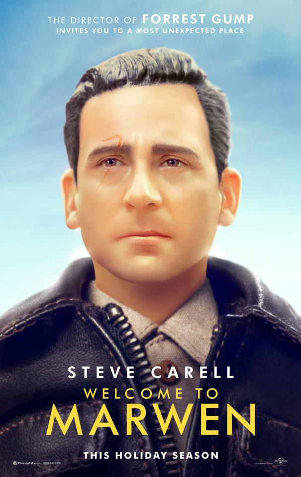 Poster ufficiale di Welcome to Marwen