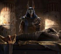Un'immagine promozionale di Assassin's Creed Origins