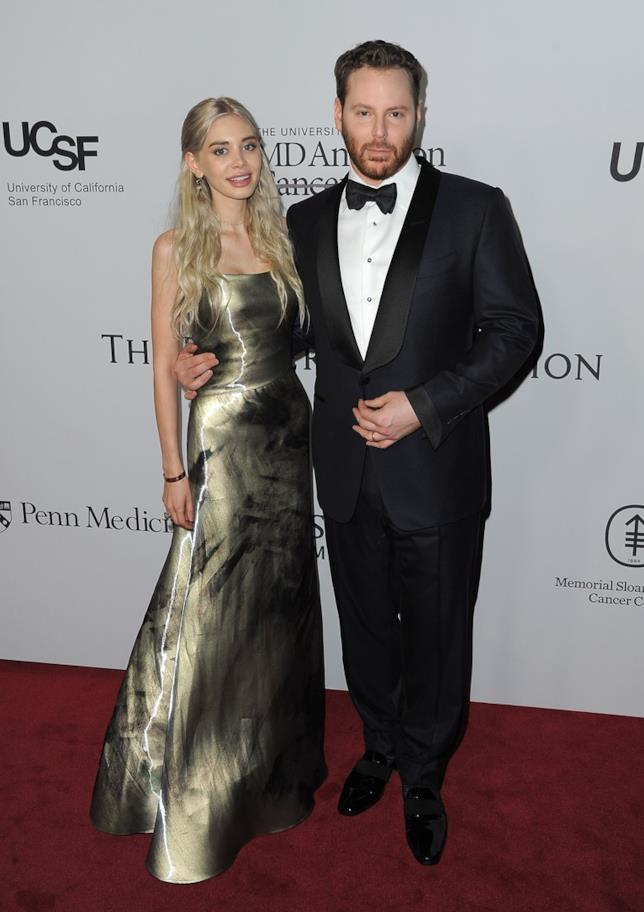Il tycoon Sean Parker e la moglie Alexandra Lenas