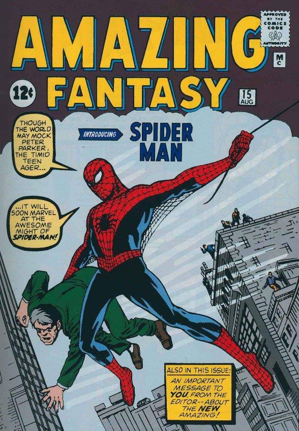 Il costume 'con ali' di Spider-Man nei fumetti