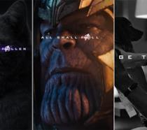 Character poster di Thor in Avengers: Endgame