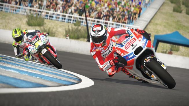 Velocità e adrenalina in uno scatto di MotoGP 17