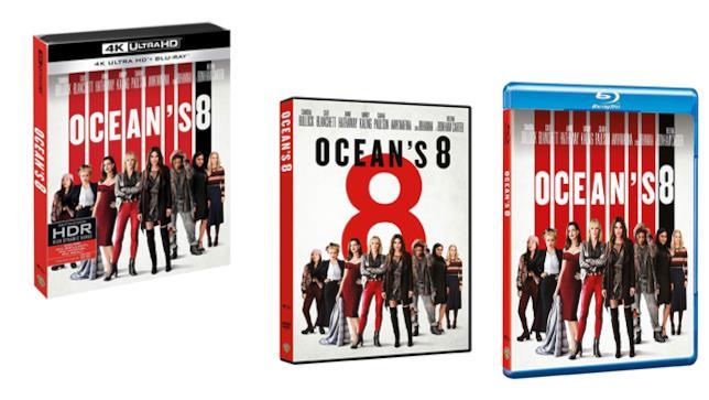 Ocean's 8 - Home Video - DVD - Blu-ray - 4K