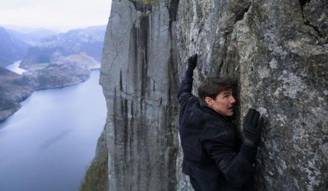 Tom Cruise in una scena del film
