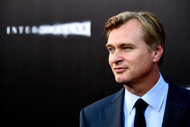 Christopher Nolan in primo piano