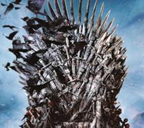 Un artwork da uno dei cofanetti de Il Trono di Spade