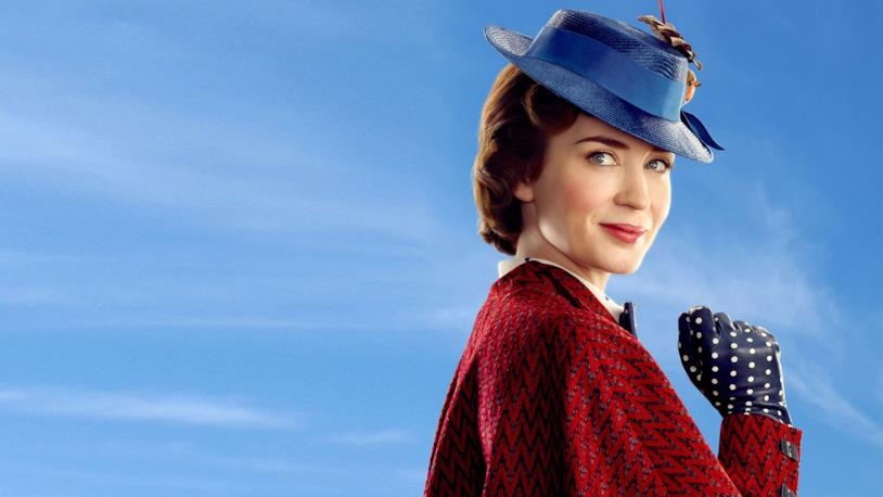 Emily Blunt come Mary Poppins