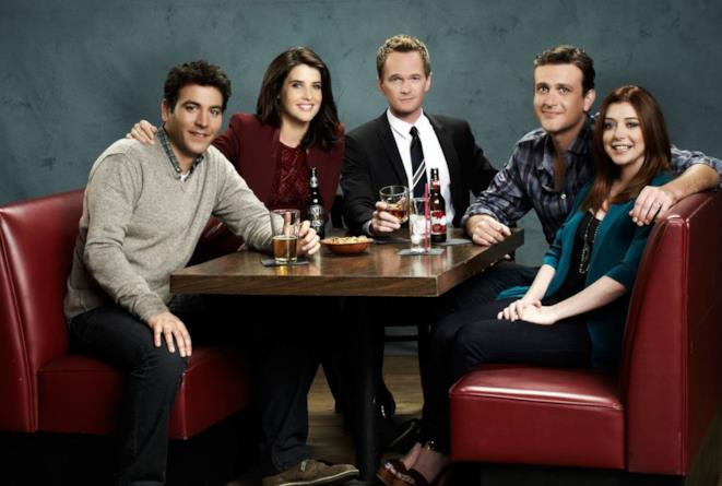 I protagonisti di How I Met Your Mother